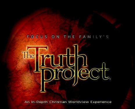 project truth The truth project lesson 5(2) by: giraffupus [2 videos »] 4,648 by focus on the family category: faith & lifestyle rating: (+ more.